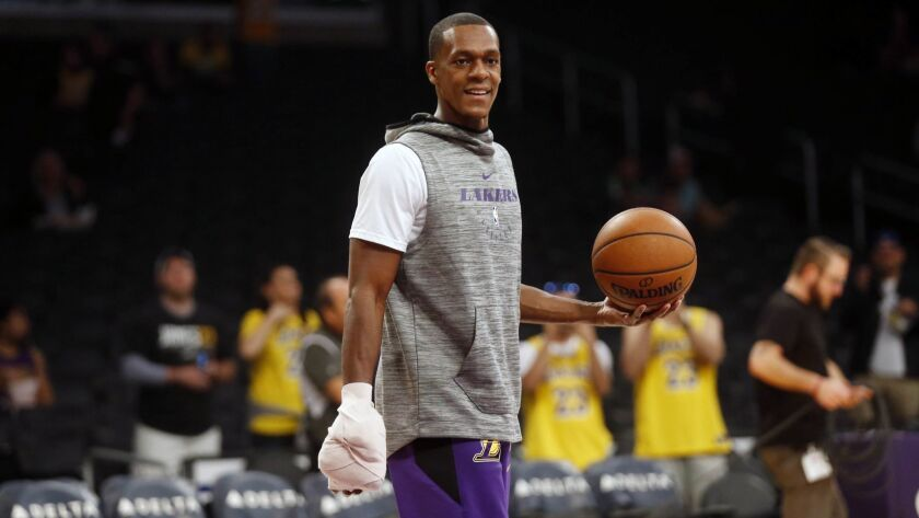 Lakers guard Rajon Rondo will have to have surgery on his right hand for a second time.