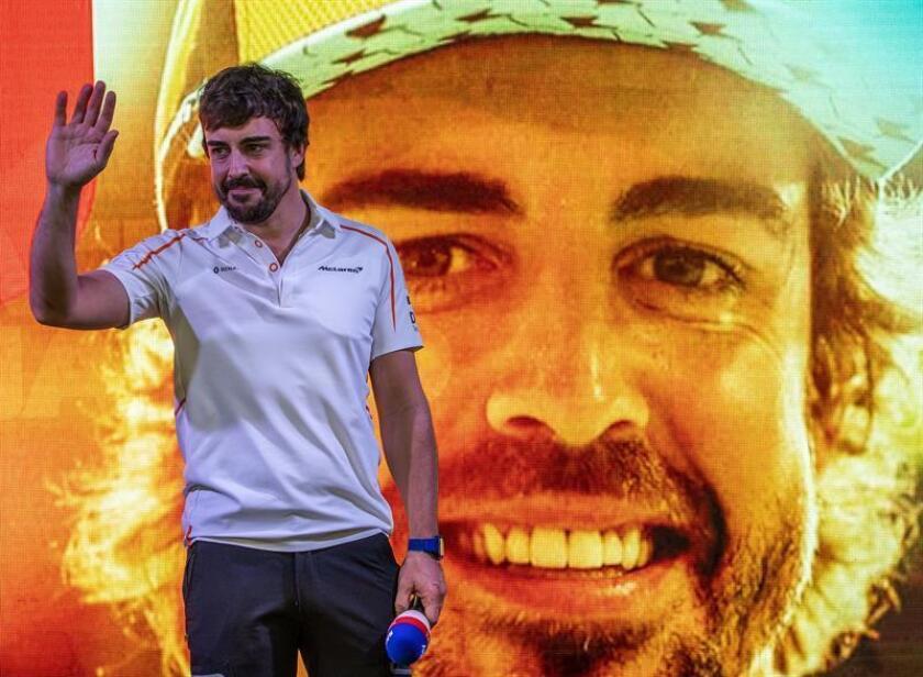 El piloto español de Fórmula Uno Fernando Alonso, de la escudería McLaren. EFE/EPA
