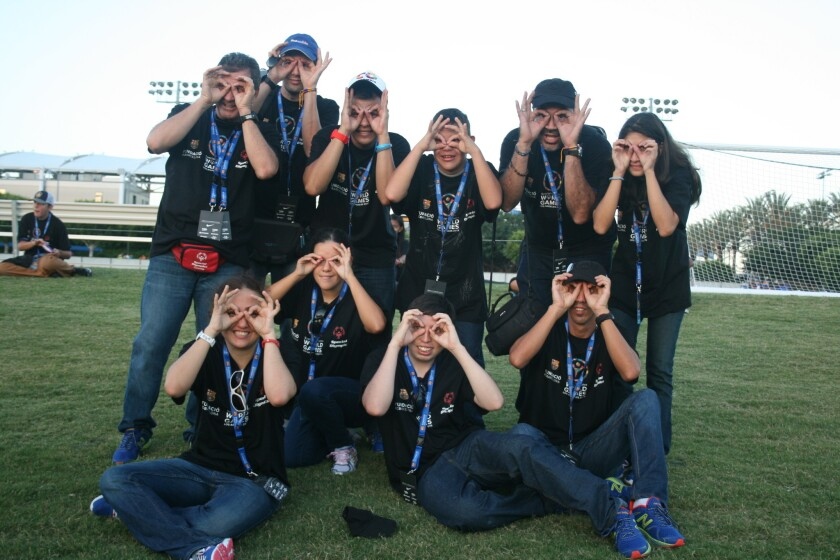 Los colombianos preparan sus 'gafitas' para buscar el camino a las medallas.