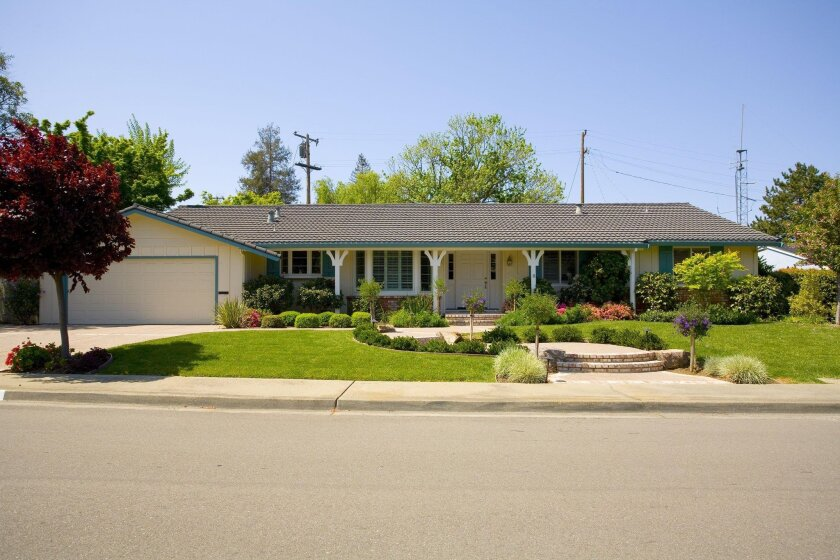 A 1970s ranch-style home can be updated in many different styles.