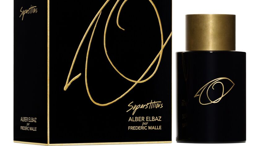 The new fragrance Superstitious Alber Elbaz by Frédéric Malle launches in April.