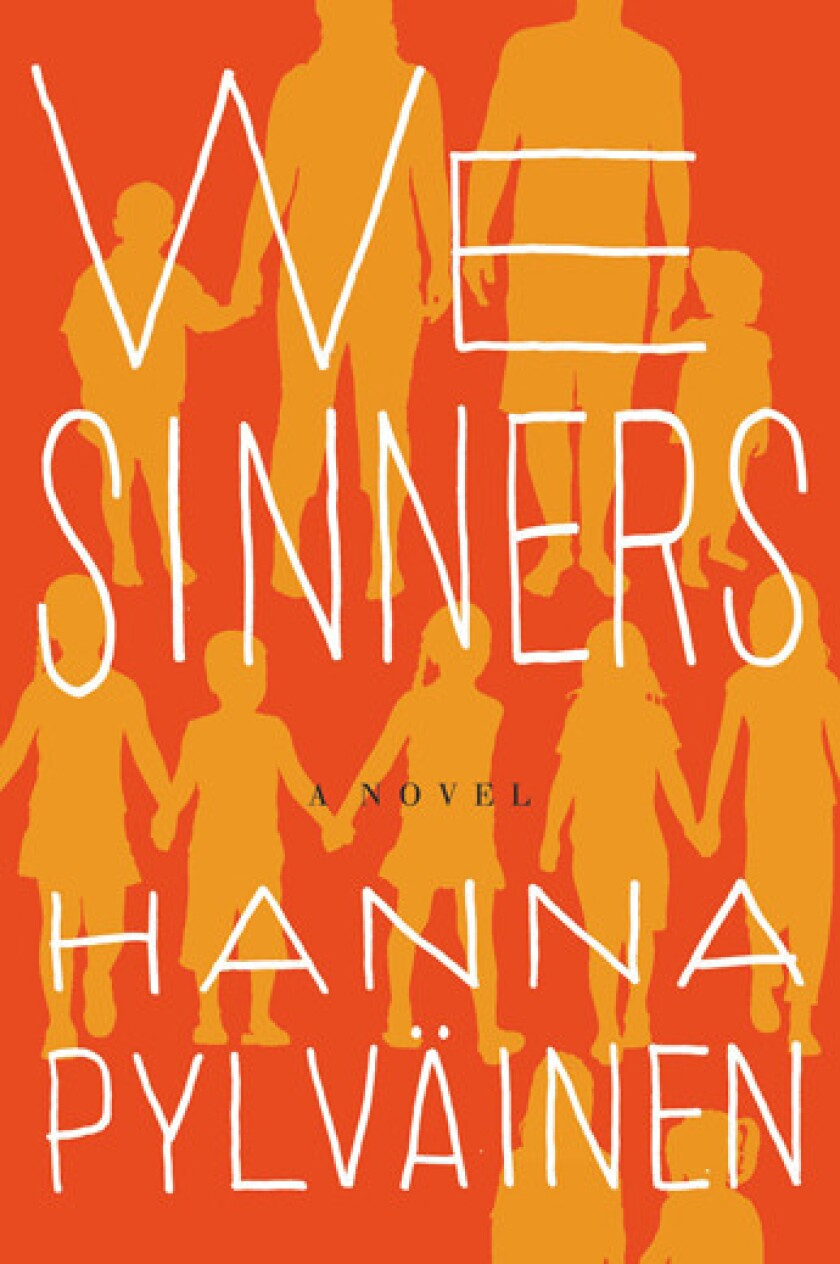The cover of 'We Sinners.'