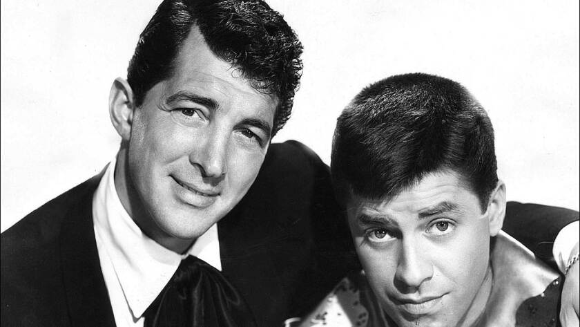 Dean Martin and Jerry Lewis in 1955.