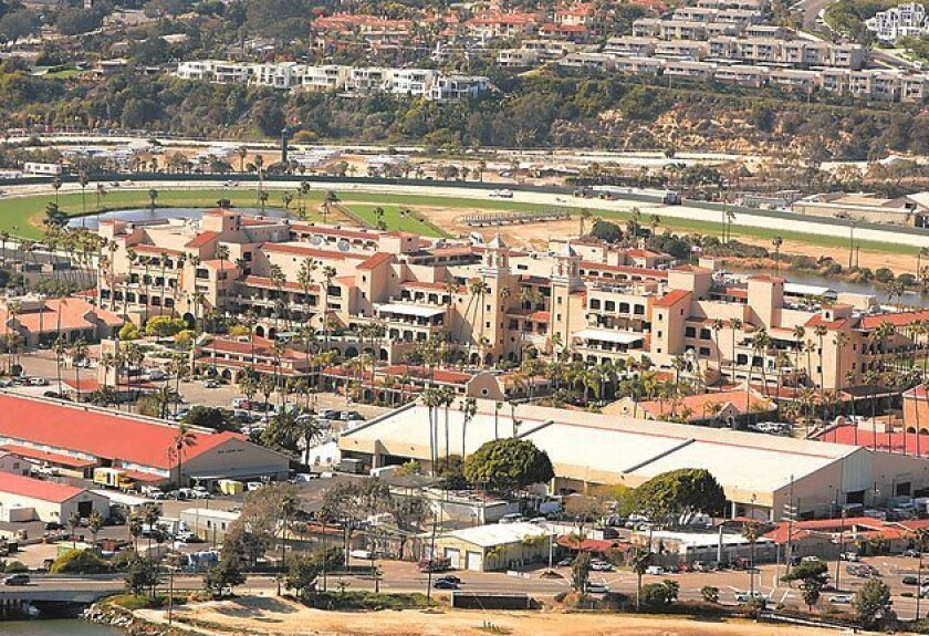 The Del Mar Fairgrounds, on 400 coastal acres, is one of several landmark state properties that 