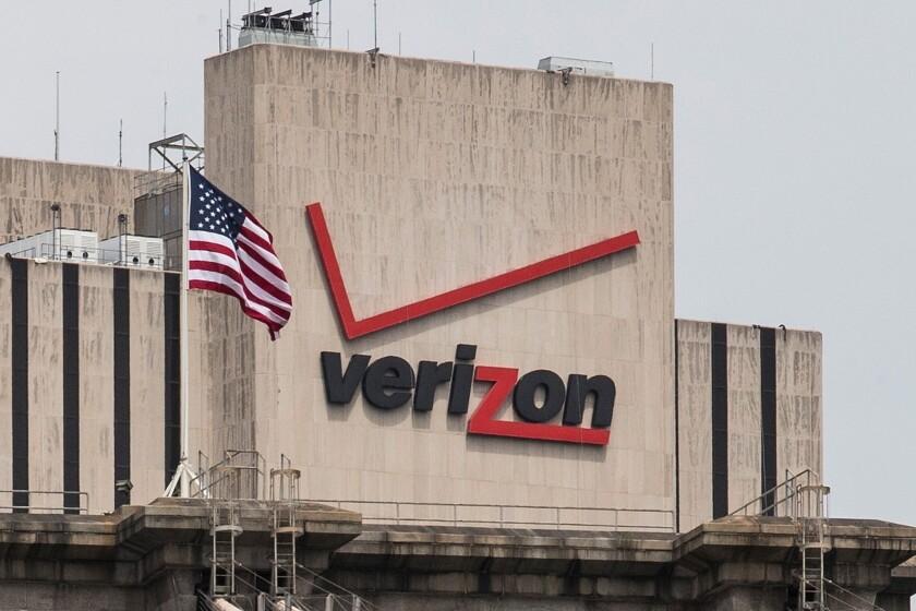The Verizon Building in Manhattan.