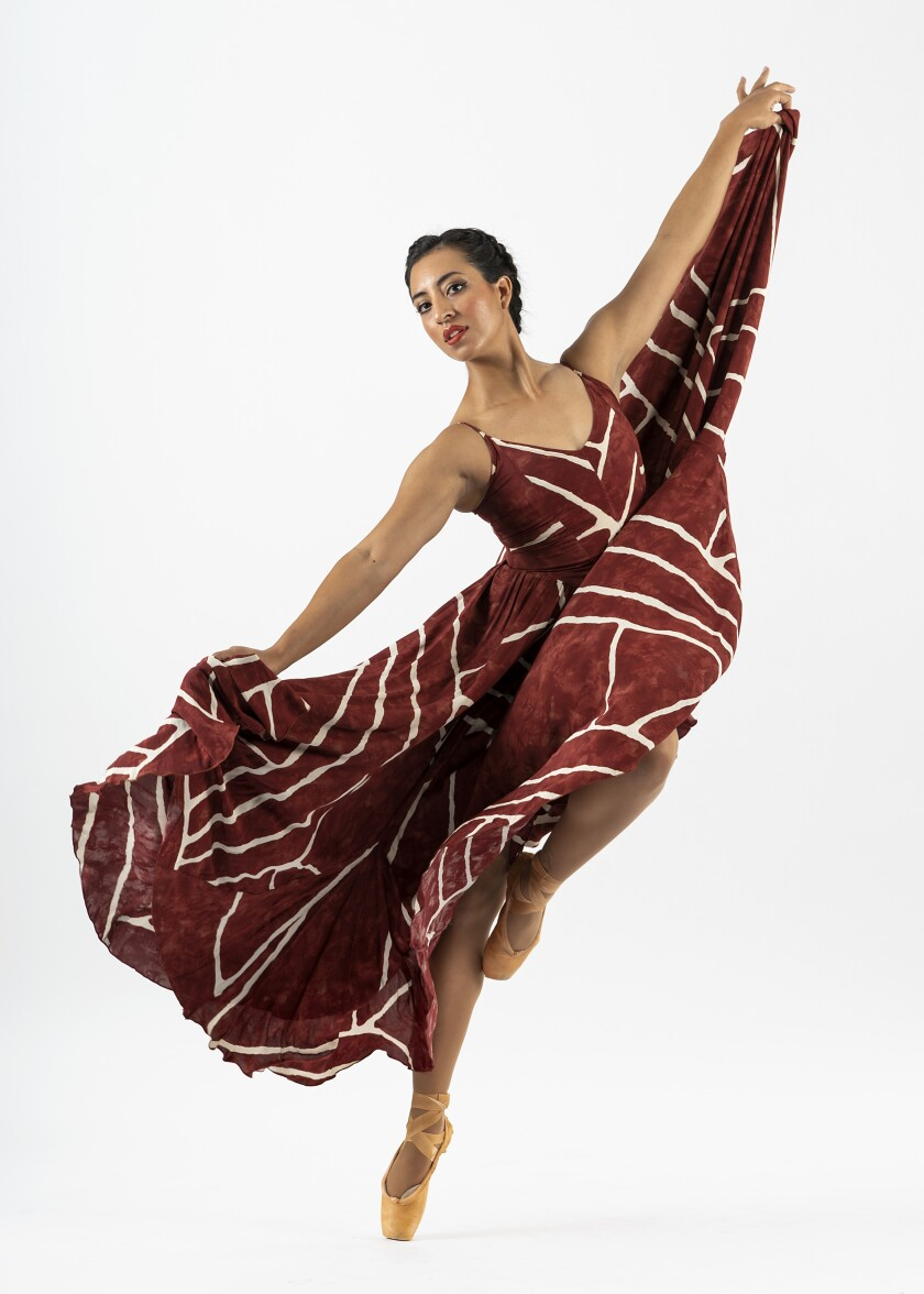 "Dancer Sharmaine Perea will be one of those featured in San Diego Ballet's ""Song of Songs."""