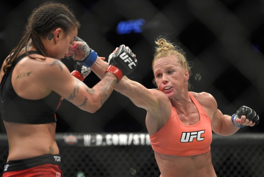 Holly Holm hearing lots of advice about Ronda Rousey