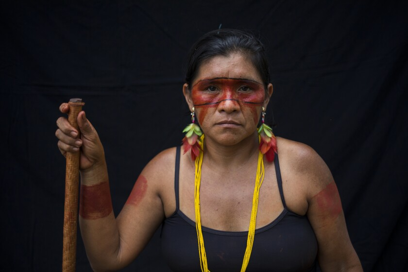 Brazil Amazon Tembe Portraits