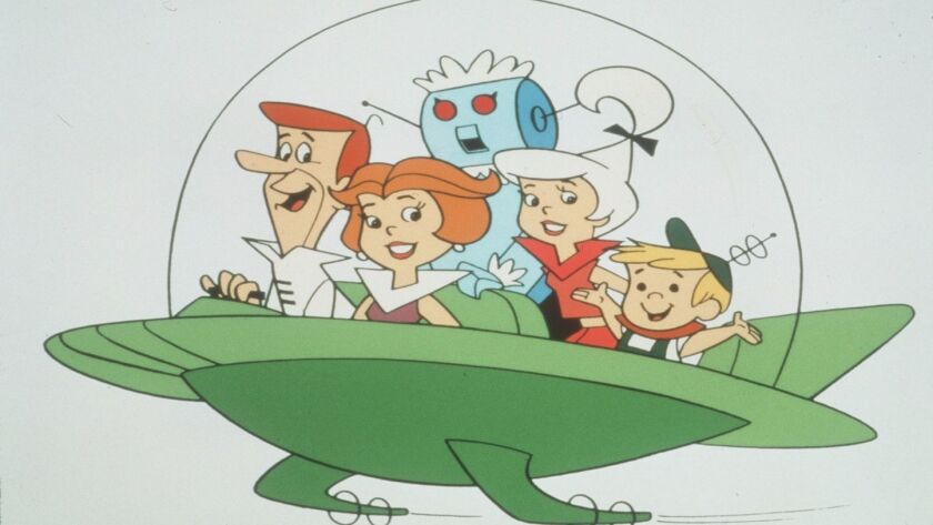 """The World of HannañBarbera, through Oct. 31, 1999 at the Museum of TV and Radio. """"The Jetsons,"""" a p"""