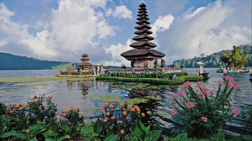 The popular tourist site of Taman Ayun Temple in Bali is just north of Denpasar, Bali. ** OUTS - ELS