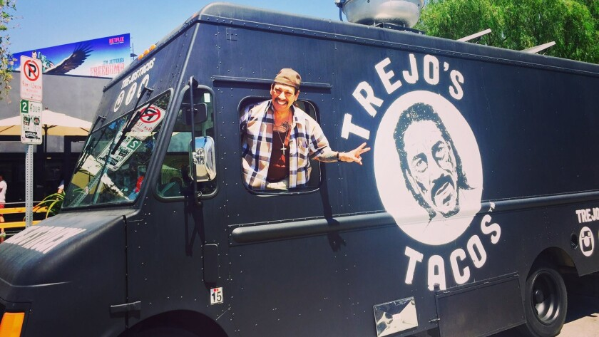 Trejo's Tacos truck