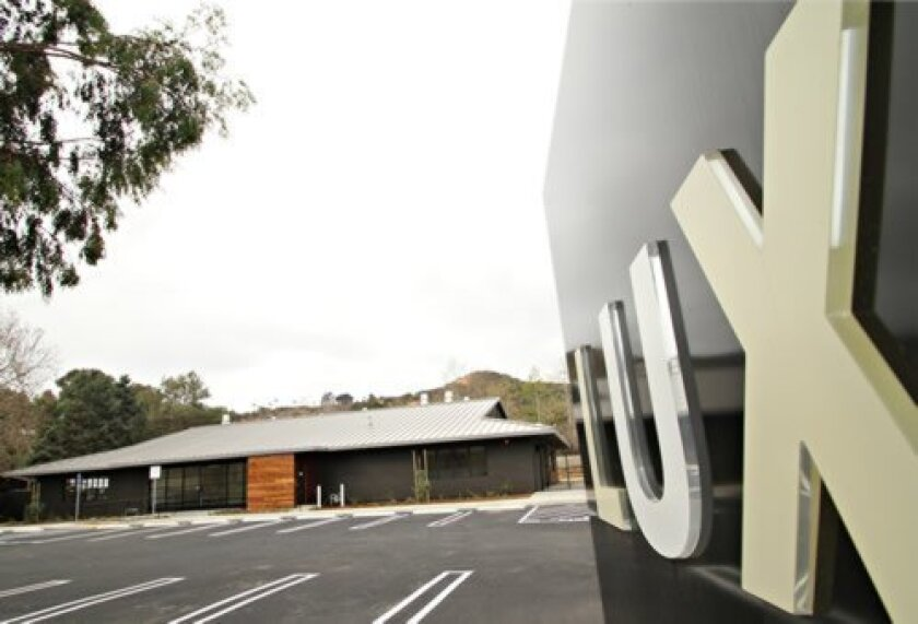 Lux Art Institute's new Educational Pavilion in Encinitas. Courtesy