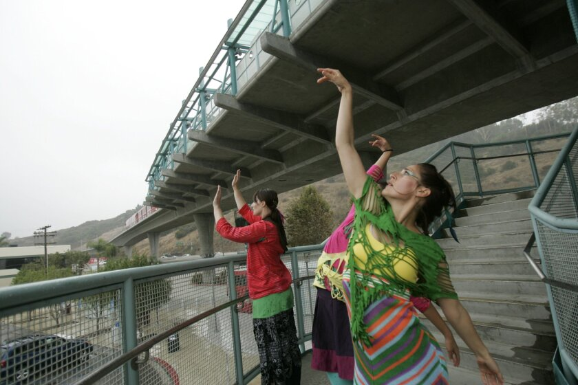 """San Diego Dance Theatre received a $10,000 matching federal grant for """"Trolley Dances."""""""