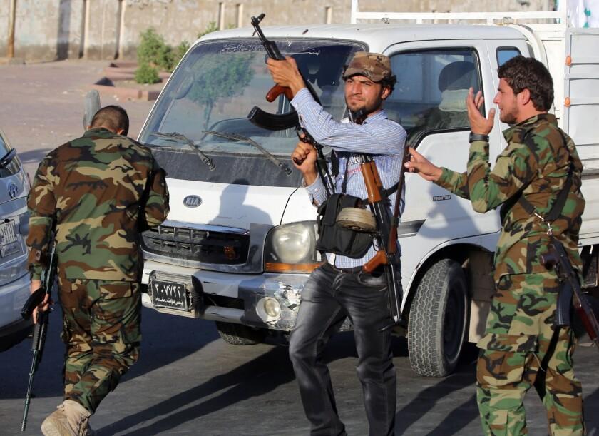 Volunteering to fight in Baghdad
