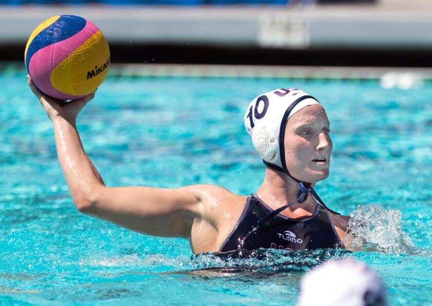 Kaleigh Gilchrist, a former Newport Harbor High standout, will represent the United States in women's water polo at the Olympic Games in Rio de Janiero, Brazil later this summer.