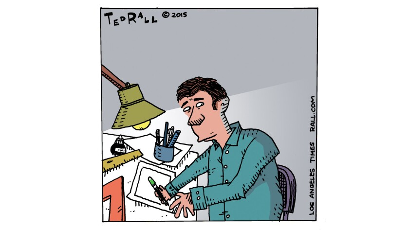 A cartoonist shouldn't have to look over his shoulder while doing his work.