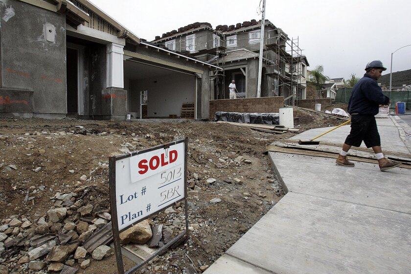New homes sold above the $500,000 median for the second time in a row in December, but it still was the second lowest December on record.