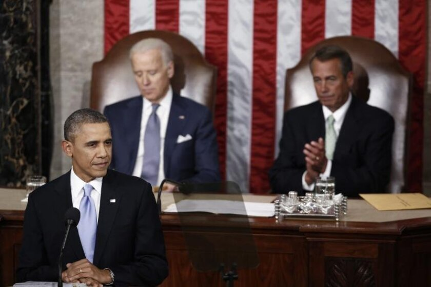 President Barack Obama delivers the State of the Union address   Tuesday night.