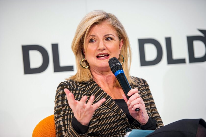 One of the most powerful women on the Internet, Huffington Post founder Arianna Huffington, refuses to be cowed by threats and insults.