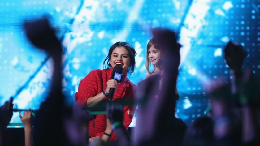 WE Day California To Celebrate Young People Changing The World