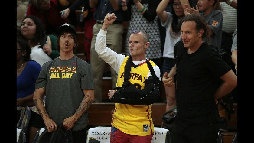 Anthony Kiedis, Flea, Dave Mushegian