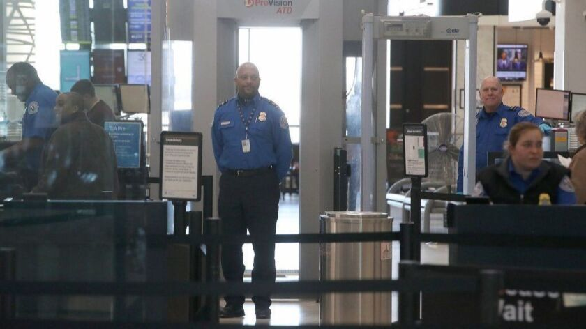 Sen. Ben Cardin Discusses Effects On Shutdown On Aviation Workers At BWI Airport
