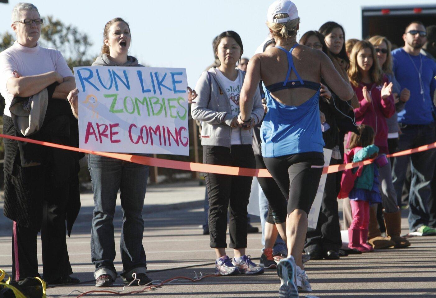 Inaugural Holiday Half marathon
