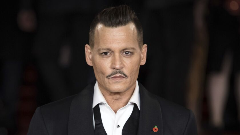 """Johnny Depp is facing a lawsuit alleging that the actor assaulted a location manager on the set of upcoming film """"City of Lies."""""""
