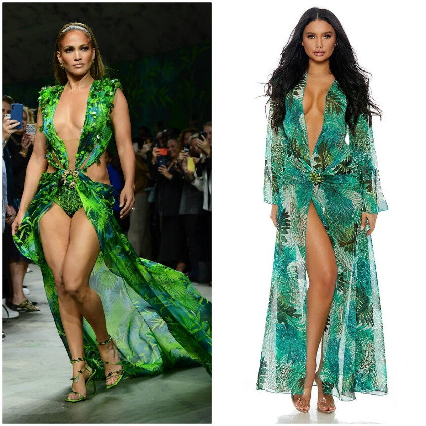JLo in that Versace dress