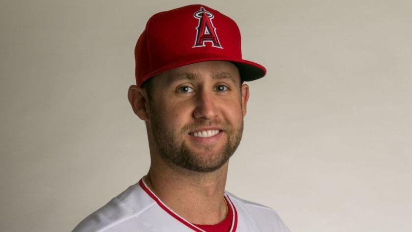 TEMPE, ARIZONA, THURSDAY, FEBRUARY 22, 2018 - The LA Angels of Anaheim pitcher Luke Bard. (Robert