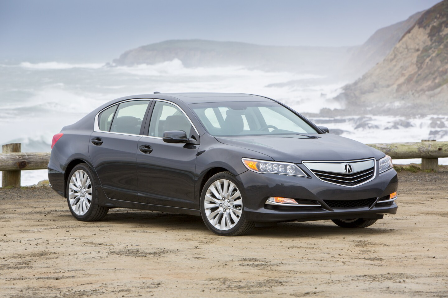 The 2014 Acura RLX is a quiet, luxurious and stylish front-wheel-drive sedan that sits at the top of the lineup for Honda's premium brand.