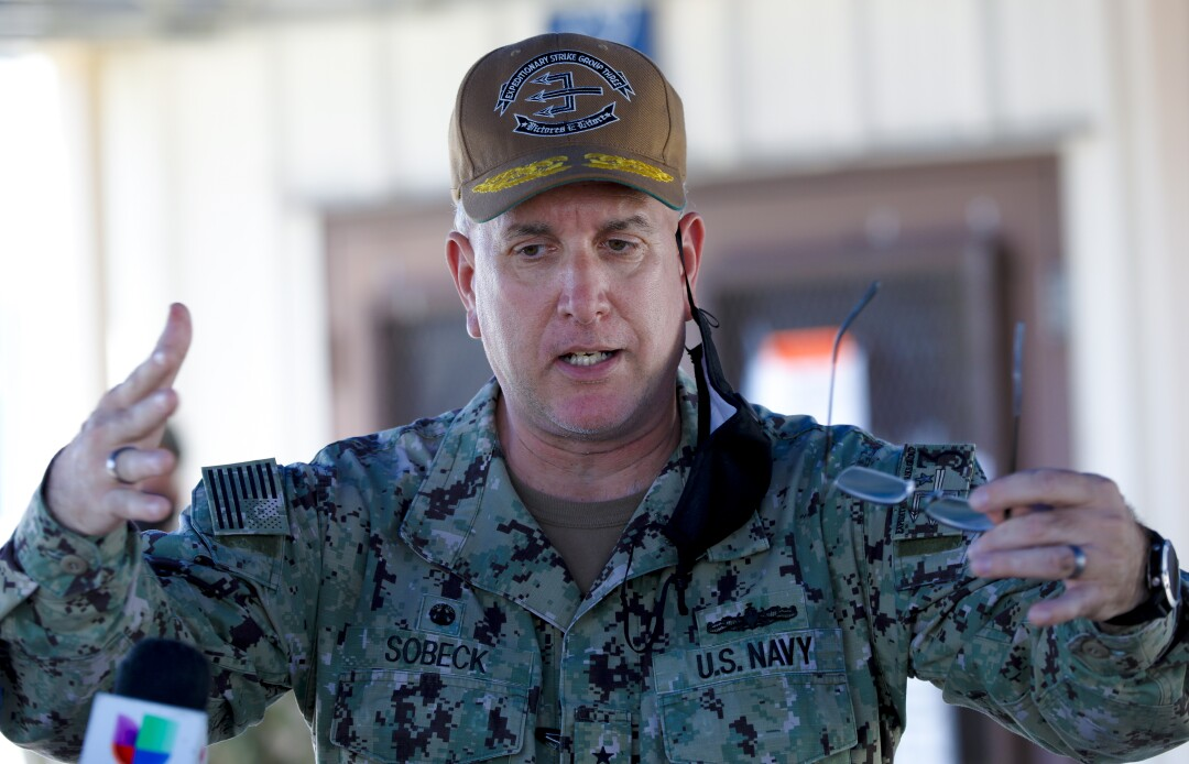 Inferno on San Diego Navy ship rages into second day