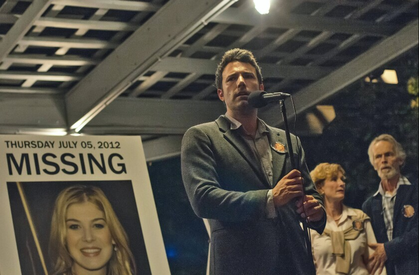 """With """"Gone Girl,"""" above, 20th Century Fox's Chris Aronson the studio had good reason to be cautious about releasing it in too many theaters given its mature content."""