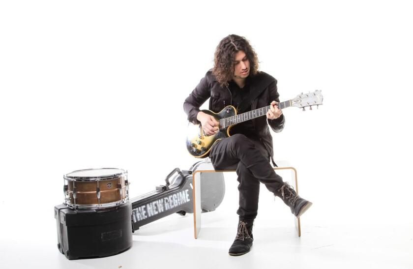 San Diego musician Ilan Rubin. (Eduardo Contreras/Union-Tribune)