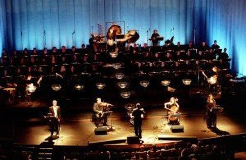 Tan Dun's Water Passion will be performed Aug. 4 at La Jolla Playhouse's Mandell Weiss Theatre, as part of SummerFest 2012.