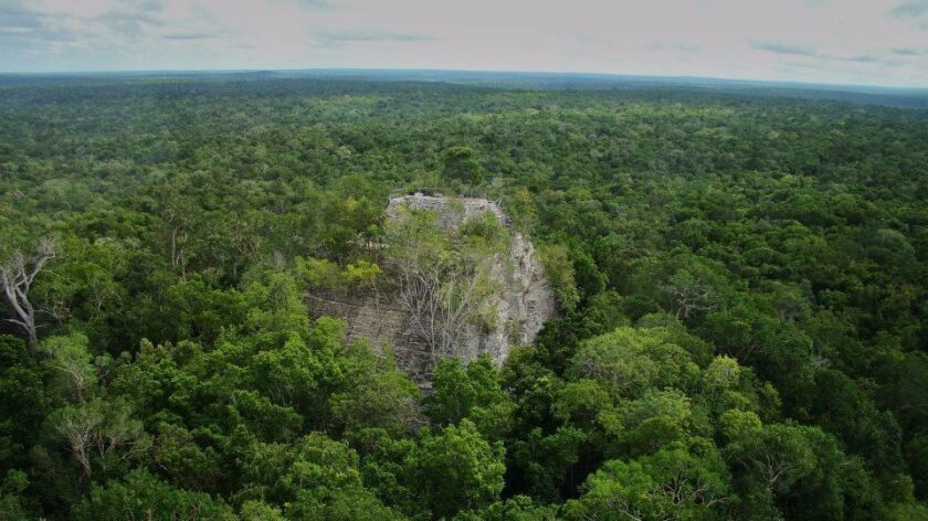 A three-day hike from the closest road, the Mayan settlement, El Mirador, has been abandoned for 1,000 years in northern Guatemala.