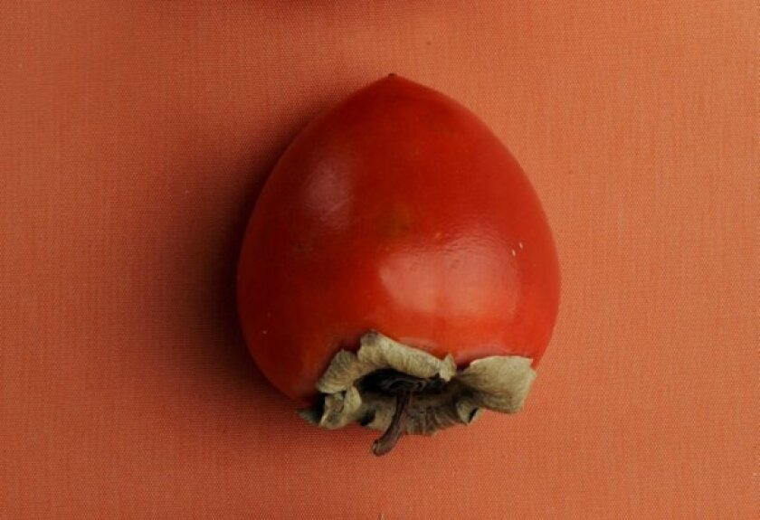 Hachiya persimmon: The taste and look of fall