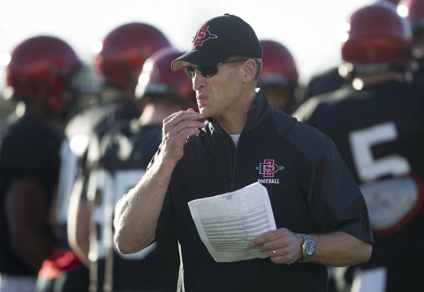 San Diego State's special teams ranked among the top 25 in the nation in 2015 under coach Bobby Hauck.