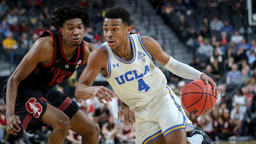 promo code 7bcfc da31f Jaylen Hands helps UCLA hold off Stanford rally in Pac-12 ...