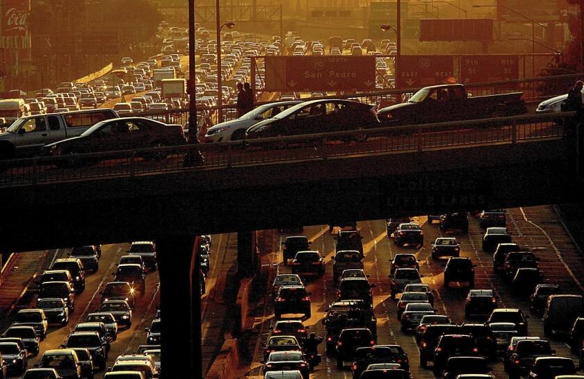 Los Angeles traffic congestion