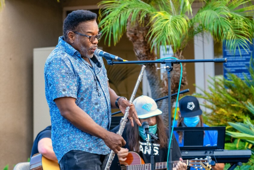 Military veteran Will Weatherspoon will be in Semper Sound concert.