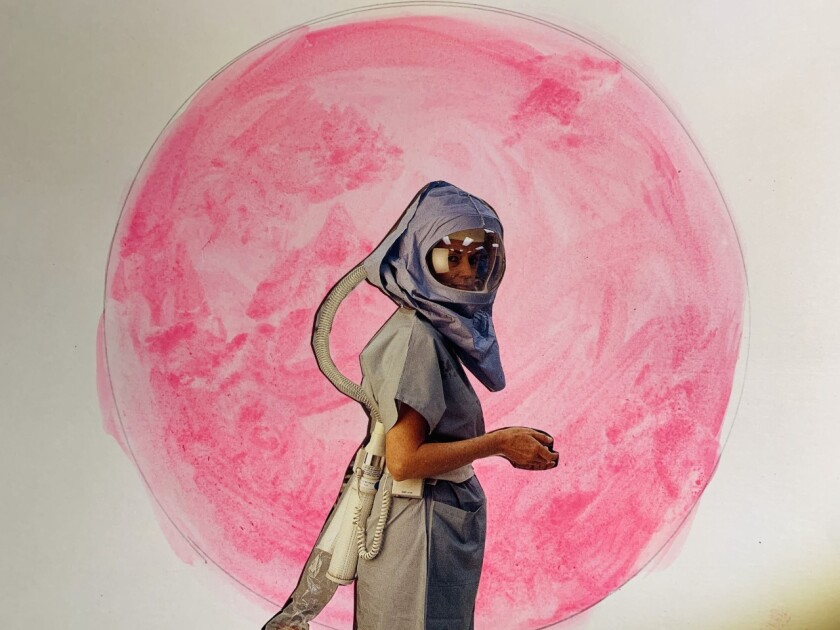 """A dramaturgical sketch by Sean Griffin for """"Full Pink Moon: Opera Povera in Quarantine."""""""