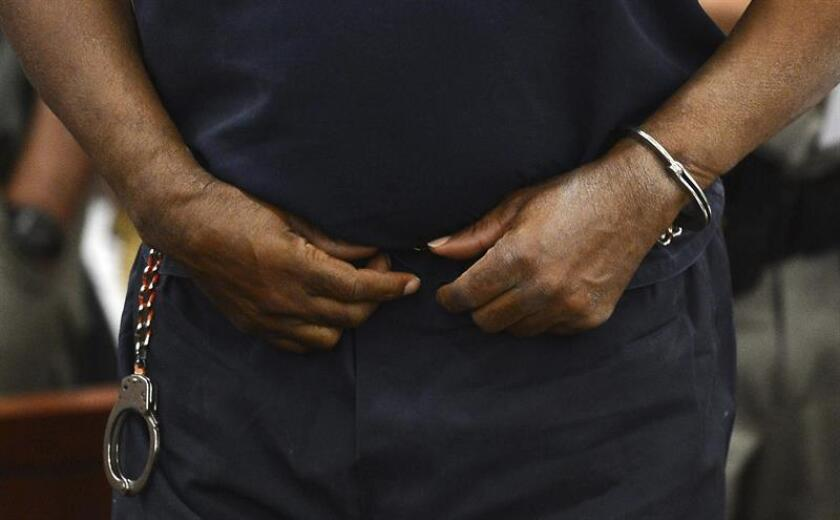 Un sujeto señalado de pertenecer a una organización de tráfico de estupefacientes fue condenado a 20 años de prisión por un homicidio que cometió en agosto de 2000 en Manhattan, informó hoy la fiscalía del distrito sur de Nueva York. EFE/Archivo