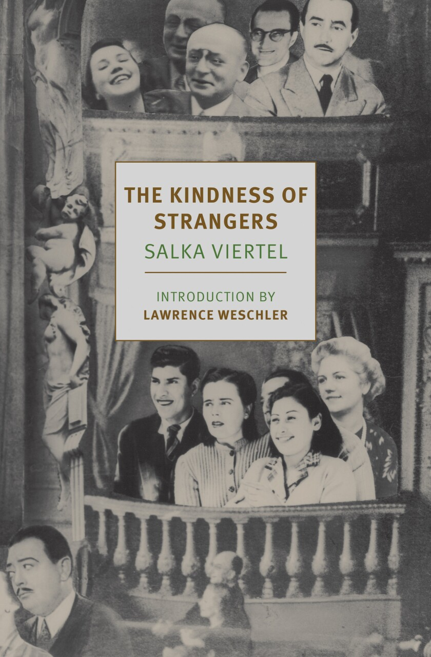 "A book Jacket for Salka Viertel's ""The Kindness of Strangers."" Credit: NYRB Classics"