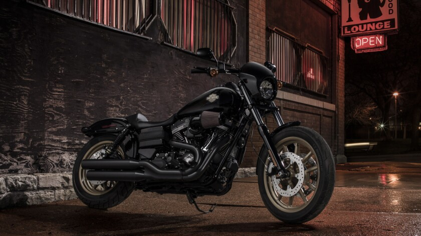 Riding the new Harley-Davidson Low Rider S - Los Angeles Times