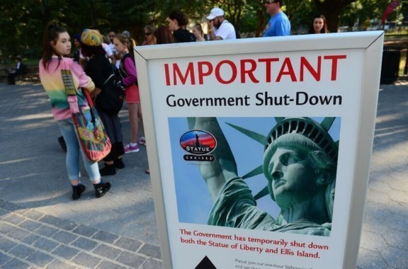 National monuments closed following federal government shutdown