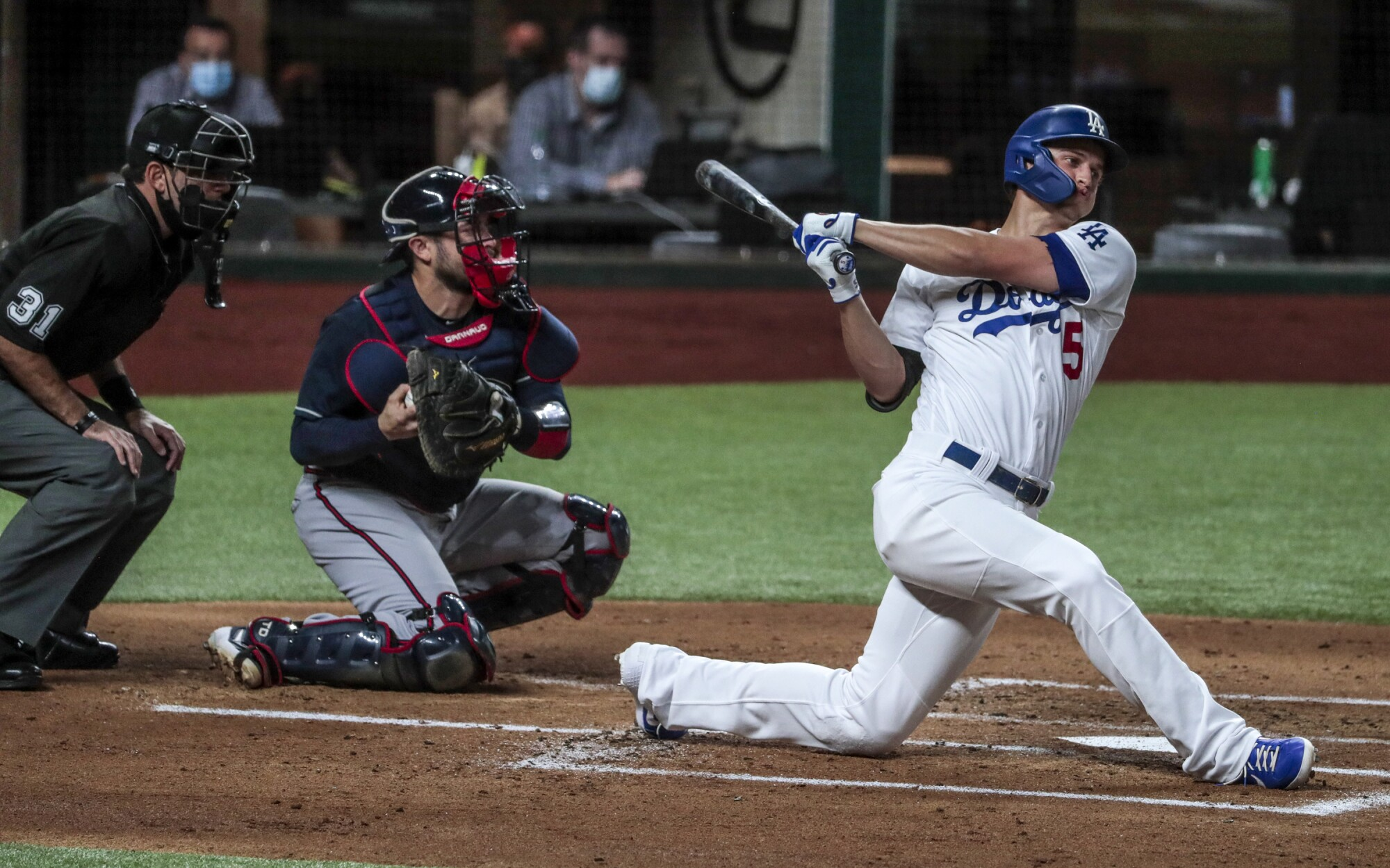 Photos from Dodgers' loss to Atlanta Braves in Game 1 of NLCS - Los Angeles  Times