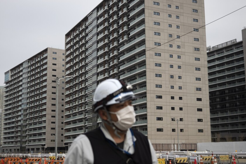 Olympics Tokyo Virus Athletes