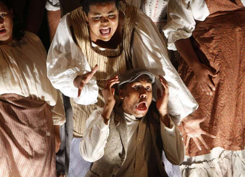 """Long Beach Opera's 2011 production of David Lang's """"Difficulty of Crossing a Field."""""""