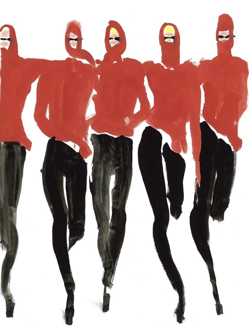 'Red Halston' by Tony Viramontes